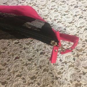 Victoria's Secret Bags - [Victoria's Secret] black pink tote bag purse